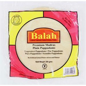 Picture of Balah Plain Pappadam 200G